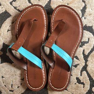Bernardo size 8.5 brand new leather sandals